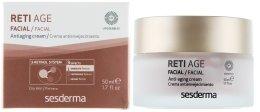 Парфюмерия и Козметика Крем против стареене с ретинол за суха кожа - SesDerma Laboratories Reti Age Facial Antiaging Cream 3-Retinol System