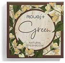 Парфюмерия и Козметика Палитра сенки за очи - Rougj+ Green Natural Eyeshadow Palette