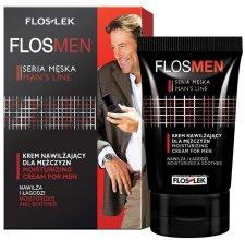 Парфюми, Парфюмерия, козметика Хидратиращ крем за лице - Floslek Flosmen Moisturizing Cream For Men