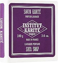 Парфюми, Парфюмерия, козметика Сапун с масло от ший и аромат на лавандула - Institut Karite Lavande Shea Soap