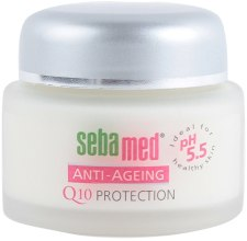 Парфюми, Парфюмерия, козметика Крем за лице против бръчки - Sebamed Anti-Ageing Q10 Protection Cream