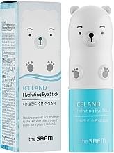 Парфюмерия и Козметика Хидратиращ околоочен стик с вода от ледник - The Saem Iceland Hydrating Eye Stick