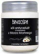 Парфюми, Парфюмерия, козметика Соли за вана против стрии и целулит с екстракт от лайка и лечебна кал - BingoSpa Salt With Minerals