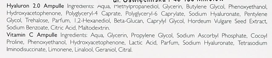Ампули за лице - Alcina Hyaluron 2.0 & Vitamin C Ampulle — снимка N4