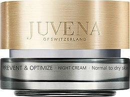 Парфюми, Парфюмерия, козметика Нощен крем за нормална и суха кожа на лицето - Juvena Prevent & Optimize Night Cream Normal To Dry Skin