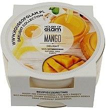 Парфюми, Парфюмерия, козметика Ароматна свещ - House of Glam Mango Delight Candle (мини)