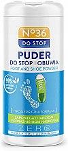 Парфюмерия и Козметика Пудра за крака и обувки - Pharma CF No.36 Foot & Shoe Powder