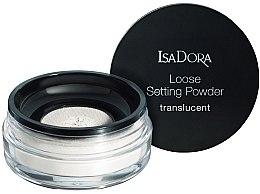 Парфюмерия и Козметика Прозрачна насипна пудра за лице - IsaDora Loose Setting Powder Translucent
