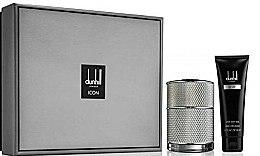 Парфюми, Парфюмерия, козметика Alfred Dunhill Icon - Комплект (парф. вода/50ml + афтър. балсам/90ml)