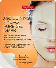 Парфюмерия и Козметика Антистарееща хидрогел маска за лице - Purederm Age Defying Hydro Pure Gel Mask