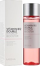 Парфюмерия и Козметика Тоник-бустер за лице с витамин В12 - Missha Vitamin B12 Double Hydrop Booster