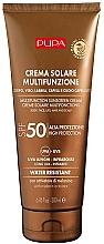 Парфюмерия и Козметика Хидратиращ слънцезащитен крем за тяло SPF 50 - Pupa Multifunction Sunscreen Cream