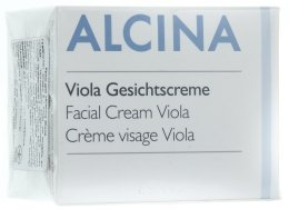 Парфюми, Парфюмерия, козметика Крем за лице теменуга - Alcina T Facial Cream Viola