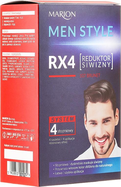 Мъжка боя за коса - Marion Men Style 4 Steps Grey Hair Reducer