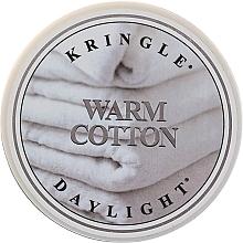 Парфюмерия и Козметика Ароматна чаена свещ - Kringle Candle Warm Cotton