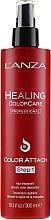 Парфюмерия и Козметика Спрей за защита на цвета на боядисаната коса - Lanza Healing Color Care Color Attach Step 1
