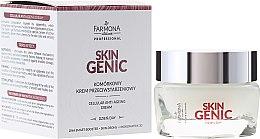 Парфюмерия и Козметика Клетъчен крем за лице против бръчки - Farmona Professional Skin Genic