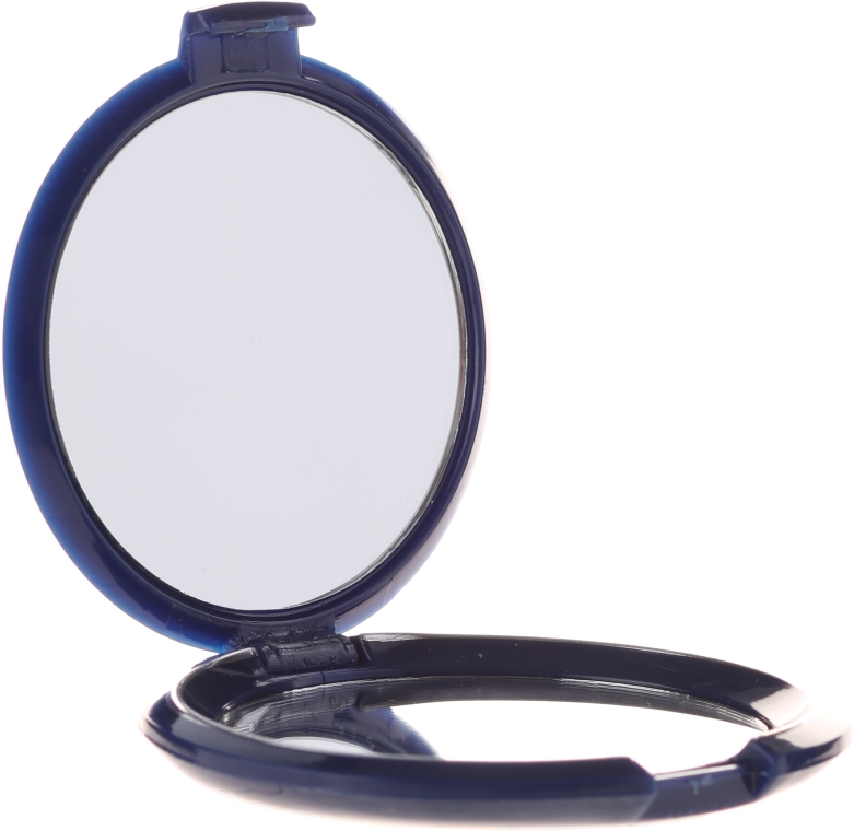 Козметично огледалце двустранно, тъмносиньо, 5565 - Top Choice — снимка N3