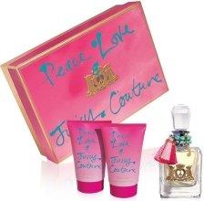 Парфюми, Парфюмерия, козметика Juicy Couture Peace, Love & Juicy Couture - Комплект (edp/100ml + b/lot/125ml + sh/gel/125ml)
