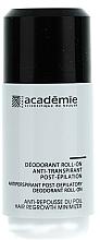 Парфюмерия и Козметика Дезодорант антиперспирант за след епилация - Academie Acad'Epil Deodorant Roll-on Specifique Post
