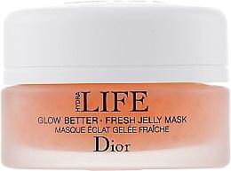 Парфюми, Парфюмерия, козметика Нощна желе-маска за лице - Christian Dior Hydra Life Glow Better Fresh Jelly Mask (тестер)