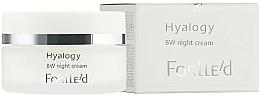 Парфюмерия и Козметика Нощен крем BW за изравняване на тена - ForLLe'd Hyalogy BW Night Cream