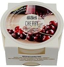 """Парфюмерия и Козметика Соева ароматна свещ """"Череша"""" - House of Glam Sweet Cherry Liquer Candle (мини)"""