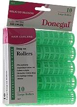 Парфюмерия и Козметика Ролки за коса, класическа форма, 23 мм, 10 бр. - Donegal Hair Curlers