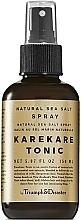 Парфюмерия и Козметика Тоник спрей за коса с морска сол - Triumph & Disaster Karekare Tonic Salt Spray
