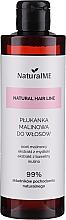 Парфюмерия и Козметика Обливка за мазна коса с малинов оцет - NaturalME Natural Hair Line Balm