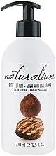 """Парфюмерия и Козметика Подхранващ лосион за тяло """"Ший и макадамия"""" - Naturalium Body Lotion"""