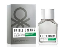 Парфюмерия и Козметика Benetton United Dreams Aim High - Тоалетна вода (тестер с капачка)