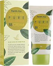 Парфюмерия и Козметика ВВ крем със семена от зелен чай - FarmStay Green Tea Seed Pure Anti-Wrinkle BB Cream