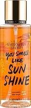 Парфюмерия и Козметика Парфюмен спрей за тяло - Victoria's Secret You Smell Like Sunshine Fragrance Mist
