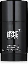 Парфюмерия и Козметика Montblanc Emblem - Стик дезодорант