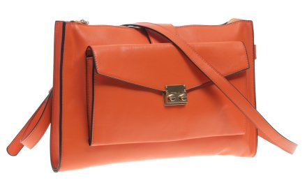 Сумка для женщин, оранжевая - Benetton — снимка N1