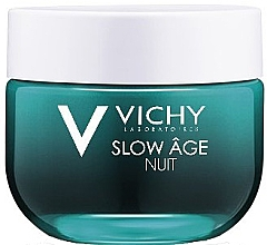 Парфюмерия и Козметика Възстановяваща нощна крем-маска - Vichy Slow Age Cream & Mask (мини)