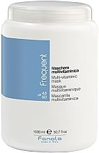Парфюмерия и Козметика Мултивитаминна маска за коса - Fanola Frequent Multi Vitamin Mask