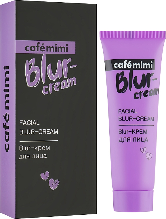 Матиращ крем за лице - Cafe Mimi Facial Blur-Cream — снимка N1