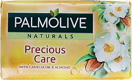 Парфюми, Парфюмерия, козметика Сапун - Palmolive Precious Care Camelia Oil & Almond