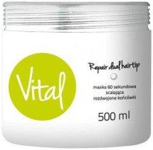 Парфюми, Парфюмерия, козметика Възстановяваща маска за коса за 60 секунди - Stapiz Vital Repair Dual Hairtip 60s Mask