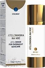 Парфюмерия и Козметика Колагенова маска за лице - Colway AteloMask for Overnight Skincare