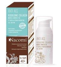 Парфюми, Парфюмерия, козметика Нощен крем за лице - Nacomi Anti Age Rebuilding Collagen Cream 40+