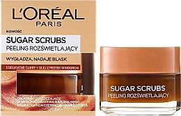 Парфюми, Парфюмерия, козметика Захарен скраб за лице - L'Oreal Paris Sugar Scrubs