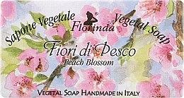"""Парфюми, Парфюмерия, козметика Натурален сапун """"Цвят от праскова"""" - Florinda Sapone Vegetal Soap Peach Blossom"""