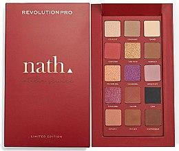 Парфюми, Парфюмерия, козметика Палитра сенки за очи - Makeup Revolution Pro X Nath Eyeshadow Palette