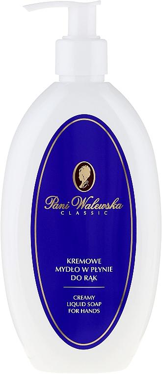 Течен крем-сапун за ръце - Pani Walewska Liquid Soap Classic