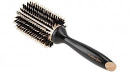 Парфюмерия и Козметика Кръгла четка за коса, 38 мм - Kashoki Hair Brush Natural Beauty