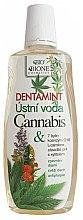 Парфюмерия и Козметика Вода за уста с екстракт от коноп - Bione Cosmetics Dentamint Mouthwash Cannabis