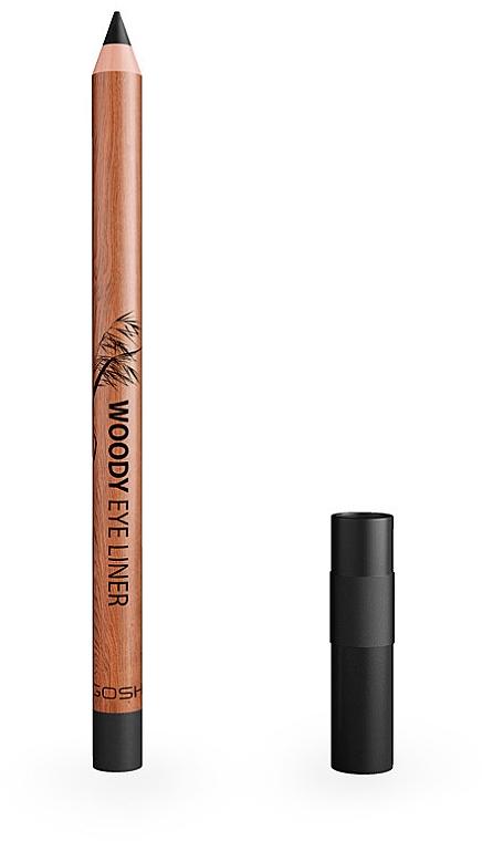 Водоустойчив молив за очи - Gosh Woody Eye Liner